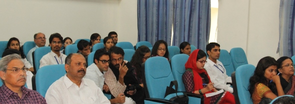 Participants of the Faculty Weorkshop on Teaching Public Policy, Media & Law, organized by CCMG, Jamia at Central University of Rajasthan, Bandar Sindri, Rajasthan