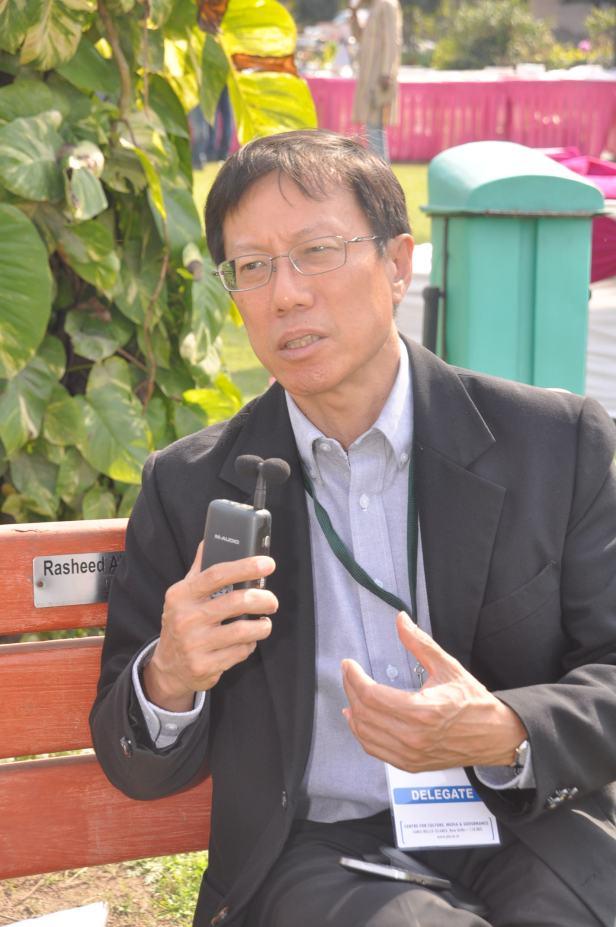 Prof. Peng Hwa Ang at Dayar-e Mir, Jamia Millia Islamia