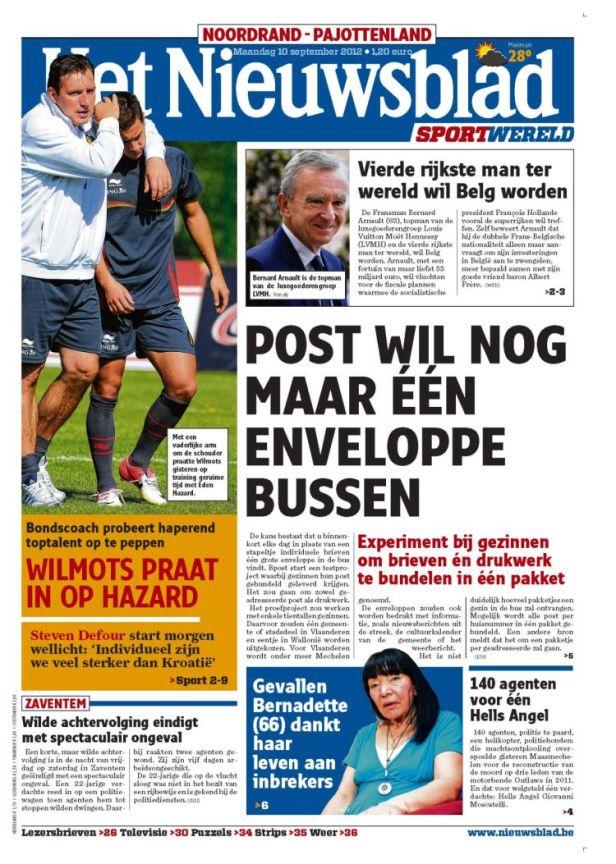Shafaq_Belgium_nieuwsblad2013