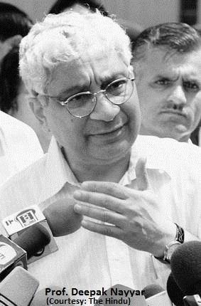 Deepak Nayyar 1