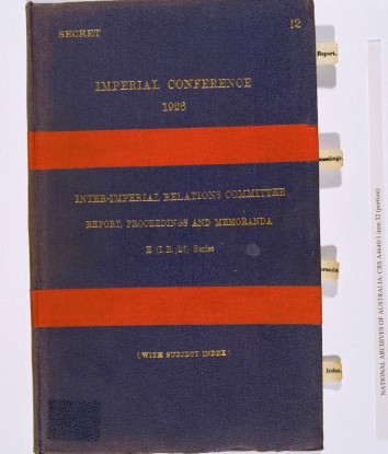 Imperial Conference 1926. cth11_72_cover_1926