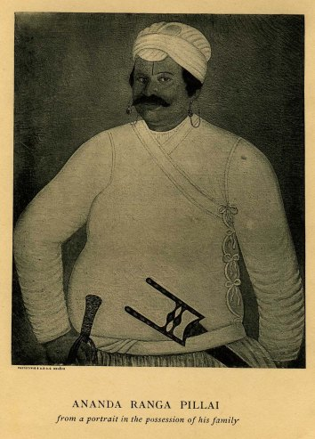 portrait_Ananda Ranga Pillai