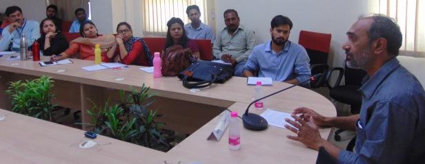 Shashi Bhushan Upadhyay-audience