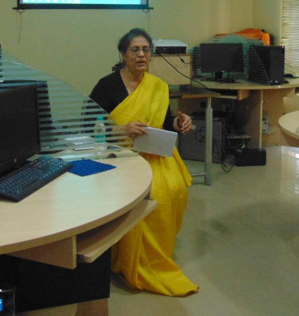 Prof. Maitrayee Chaudhuri 15.2 (7)